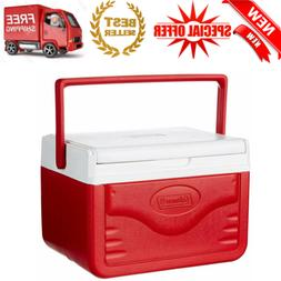 Personal Cooler Coleman Food Ice Chest Lunch Box 5 Qt Small