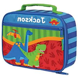 Personalized Stephen Joseph Space Dinosaur Dino Lunch Box Wi