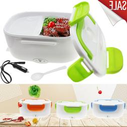 Portable 12V Car Adapter Electric Lunch Box Heated Compact B