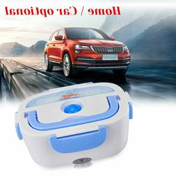 Portable Car Electric Lunch Box Food Heater Home Bento Boxes
