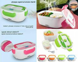 Portable Electric Lunch Heated Compact Bento Box Food Warmer