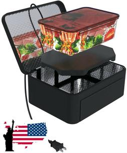 Portable Food Warmers Electric Heater Lunch Box Mini Oven 12