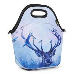 Portable Insulated Lunch Bag for Women Girls Kids Picnic Tot