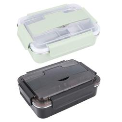 Portable Stainless Steel Lunch Box Leak Proof Food Storage C
