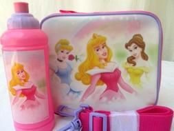 princess pink lunch box tote new w