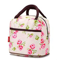 Printing Shopping Picnic Lunch Bag Tote Insulated Travel Org
