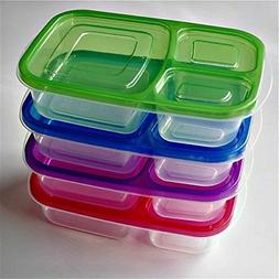 R J Convenience Meal Prep Containers Set Of 4 Bento Lunch Bo