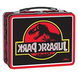 Rare Thermos Metal Tin Jurassic Park Lunch Box - 25th Annive