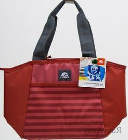 Igloo Red Stripe 8 Can Mini Essential Tote Lunch Box Bag NWT