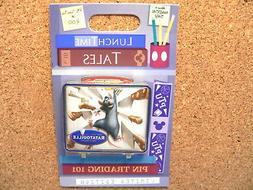 Remy Disney Pin - POTM Lunch Time Tales Ratatouille - Lunchb