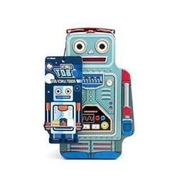 Suck UK Robot Lunch Box | TIN | Toy Storage | Bedroom Decor