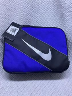 Nike Royal Blue Black Soft School Insulated Lunch Tote Bag B