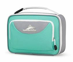 High Sierra Single Compartment Lunch Bag, Aquamarine/Ash/Whi