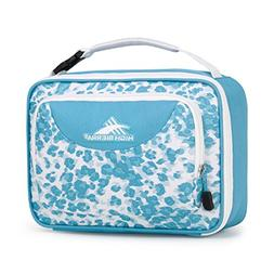 High Sierra Single Compartment Lunch Bag, Tropic Leopard/Tro