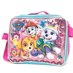 Paw Patrol Skye Everest Girls Pink Insulated Lunch Bag