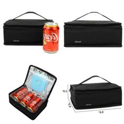 Small Insulated Lunch box Portable Soft Bag Mini Cooler Ther
