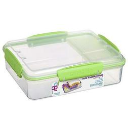 Sistema Snack Attack Duo To Go Lunch Box Sandwhich Container