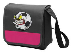 soccer lunch bag girls cooler ladies lunchbox