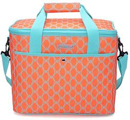 MIER 18L Large Soft Cooler Insulated Picnic Bag for Grocery,
