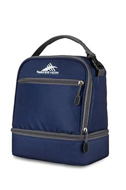 High Sierra Stacked Compartment Lunch Bag, True Navy/Mercury