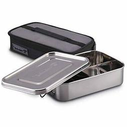 Stainless Bento Boxes Steel For Adults - Kids, Wide Divided