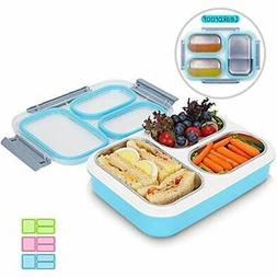 Stainless Bento Boxes Steel Lunch Large For Adults And Teens
