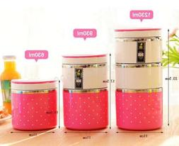Stainless Multi-layer Insulation Boxes Mini Sealed Lunch Box
