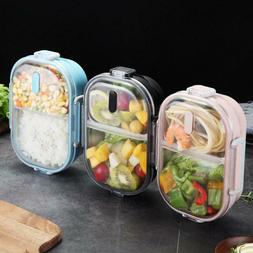 Stainless Steel Lunch Box Leak Proof Food Storage Heater Con