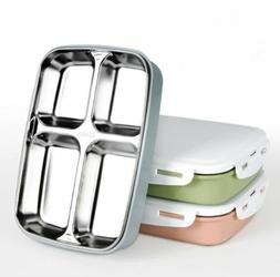 Stainless Steel Lunch Box Leak-proof Lunch Boxes Eco-Friendl