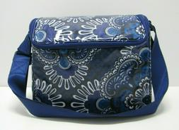 Vera Bradley Stay Cooler Lunch Box In Blue Tapestry NWT