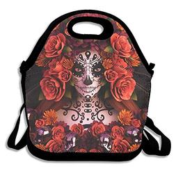 Most Fashion Maker Sugar Skulls Roses Day Dead Halloween Lun