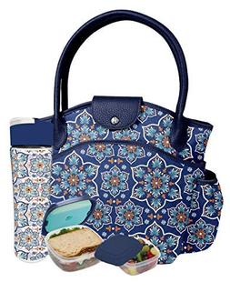 Fit & Fresh Sumter Lunch Kit for Women with BPA-free Food Co
