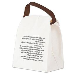 CafePress - Supernatural Fan 2 - Canvas Lunch Bag with Strap