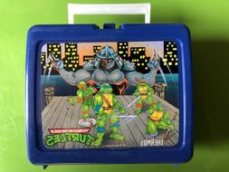 Teenage Mutant Ninja Turtles Vintage Thermos Lunch Box 1990