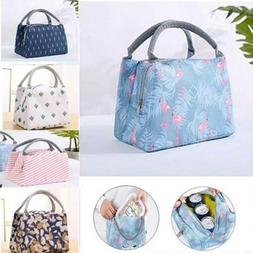Thermal Insulated Lunch Bag Cool Bag Picnic Adult Kids Food