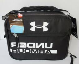 Thermos Under Armour Insulated Lunch Box Bag Tote Black Whit