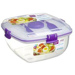 Sistema To Go Chill It 1.63L Salad Lunch Box Container with