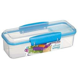Sistema To Go Snack Attack 400ml Lunch Box Freezer Plastic F