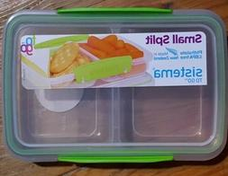 Sistema To Go Split Compartment Lunch Box  350 ml green