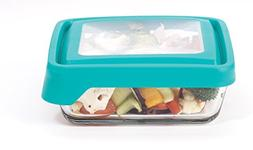 Anchor Hocking TrueSeal Glass Food Storage Container with Li