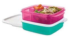 Tupperware Lunch It Divided Containers Set of 2