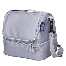 Wildkin 52801 Two Compartment Lunch Bag, Insulated, Moisture