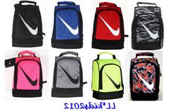 Nike two compartments insulated lunch box tote bag for schoo