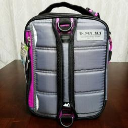 Arctic Zone Ultra Expandable 3 in 1 Grey Pink Lunch Box 2 Ic
