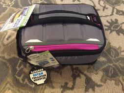 Ultra Arctic Zone Expandable Grey/Magenta Bento Lunch Box 2