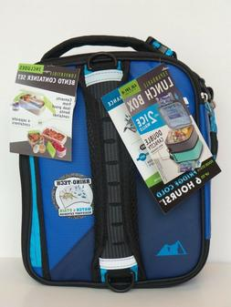 Ultra Arctic Zone Expandable Lunch Box 2 Ice Packs , 4 in 1