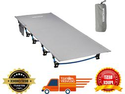 MARCHWAY Ultralight Folding Tent Camping Cot Bed Portable Co