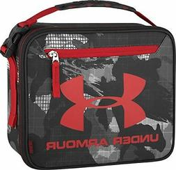 Under Armour Lunch Box Thermos Insulated Hard Interior Back