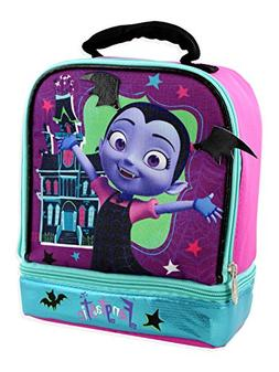 Vampirina Girl's Dual Compartment Insulated Soft Lunch Box