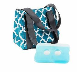 Fit & Fresh Women's Venice Insulated Lunch Bag with Ice Pack